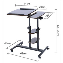 household notebook desk bed with simple lazy bedside table mobile lifting computer desk(China)