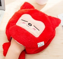 Cute paws warm in winter USB heated mouse pad with wrist, hand warmers heating pad tablet cute 3d gaming pad mat