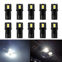 10x T10 W5W 194 168 2825 Car Interior Light For Toyota Corolla RAV4 Prius Renault Clio Duster Logan Kia Rio K2 Sorento Sportage(China)