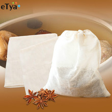 3Pcs/lot Cooking Soup Bag Brew Cotton Tea Eggs Pepper Spice Strainers Bags Healthy Traditional Chinese Medicine with Drawstring