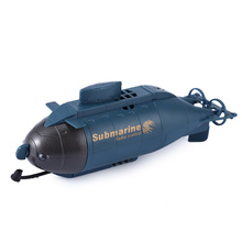 Wireless Mini RC Submarine 777 - 216 Diving Floating 40MHz Remote Radio Control Pigboat Model Toy Fish Torpedo Design RC Boats(China)