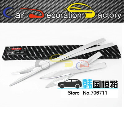 Rubbing strip Article scratch-resistant decorative plating a side door Article by the door for Ssangyong  Korando 2012 2013 2014<br><br>Aliexpress