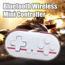 Wireless Bluetooth GamePad Mini Retro Smallest Gaming Controller GamePad Joystick Remote Control Shutter For Android for iOS PC(China)
