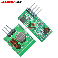 Wireless Remote Control Switch Module Voltage Module Board 315Mhz 433Mhz RF Transmitter Receiver Link Kit Arduino