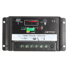 30A 12V/24V Panel Battery Regulator PWM Solar Charge Controller LED Screen Top Sale(China)