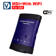 Hot Sale Multiple Diagnostic Tool For GM MDI WIFI BOD2 Auto Diagnostic Tool Car Code Reader Scan Tool Free Shipping(China)