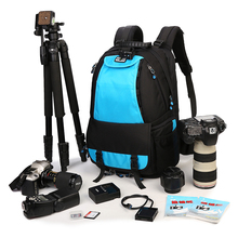 Large Space Trolley Photo SLR  Case Camera Nylon Bags Big Capacity Camera Waterproof Backpack