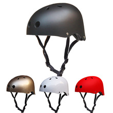 Men Round Mountain Bike Helmet Cycling Helmet Sport Accessories for Hip-hop/Roller/Skateboard/Scooters bicycle helmet toddler