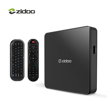 Zidoo X7 ТВ коробка 4 К Android 7.1 Bluetooth4.1 4 К * 60fps IP ТВ media player quad-core 2 ГБ DDR3 + 8 ГБ EMMC WI-FI hdmi smart телеприставки(China)