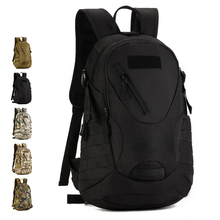 Assault Backpack 20L Nylon Camo MOLLE Expand Outdoor sports Pack Versatile Hiking Climbing Travel Camping Hunting Cycling