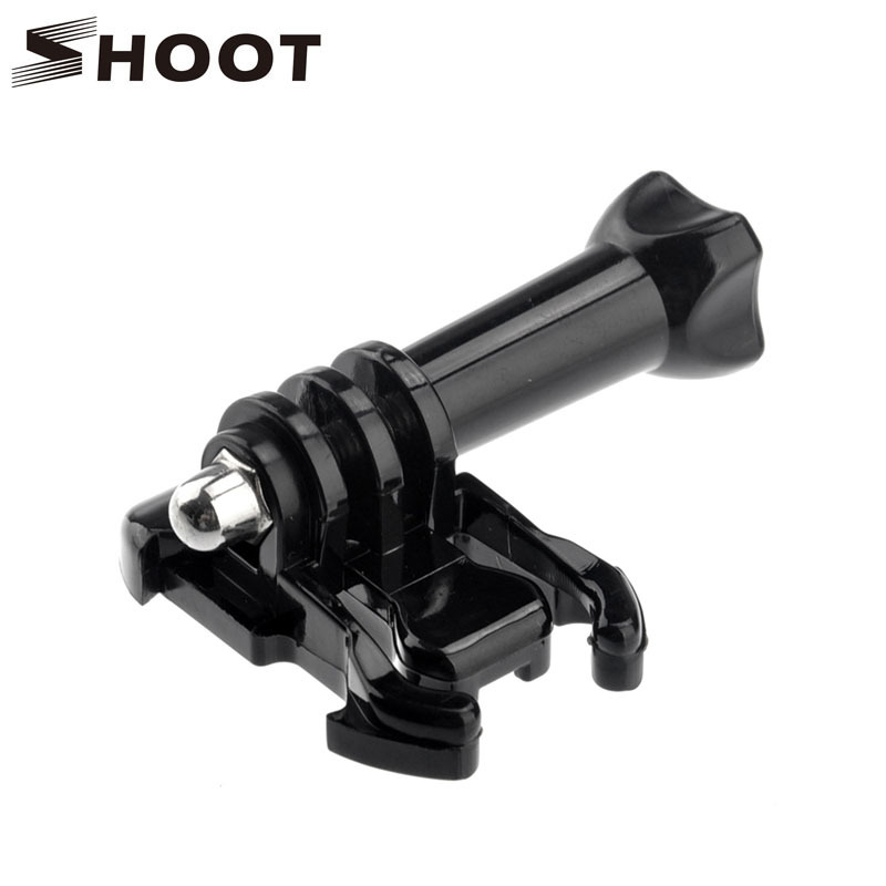 SHOOT Quick Release Tripod Base Helmet Chest Strap Buckle Mount GoPro Hero 5 4 3 Xiaomi Yi 4K SJ4000 Camera Go Pro Accessory