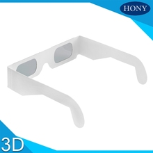 Free Shipping,5pcs Paper Cheap 3D Glassess IMax Cinema System Glasses Linear Polarized 3D Glasses used for 3D movie 3D video(China)