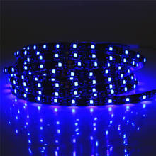 0.5 - 5M SMD 3528 60LEDS/M DC 12V Waterproof Black PCB LED Strip light white / warm white / red / green / blue / yellow / RGB(China)