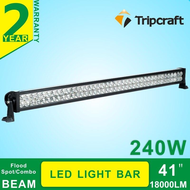 41Inch 240W Led work light bar Super Bright Flood/Spot Beam Fit Truck SUV 4X4 4WD ATV 12V 24V<br><br>Aliexpress