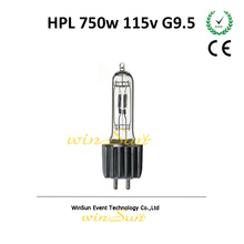93729 LL ETC Lamp Bulb HPL G9.5 750w Heat Sink 115v For Source Four Theater Lights/ Studio Light Fixtures
