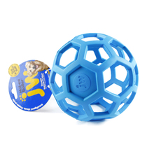 JW Geometric Ball Pet Dog Toys Natural Non-Toxic Rubber Ball Toy Chew Toy For Small Medium Large Puppy Dogs - 3 Colors(China)