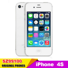 Apple Iphone 4s Factory unlock phone Dual core 8GB 16GB 32GB+512MB Storage 8MP Camera GPS 3.5'' TouchScreen used phone