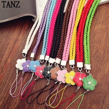 Luxury Bling Clover Tags Lanyard Neck Strap Neck Strap for Key ID Pass Card Mobile Phones Camera MP3 MP4 Holder