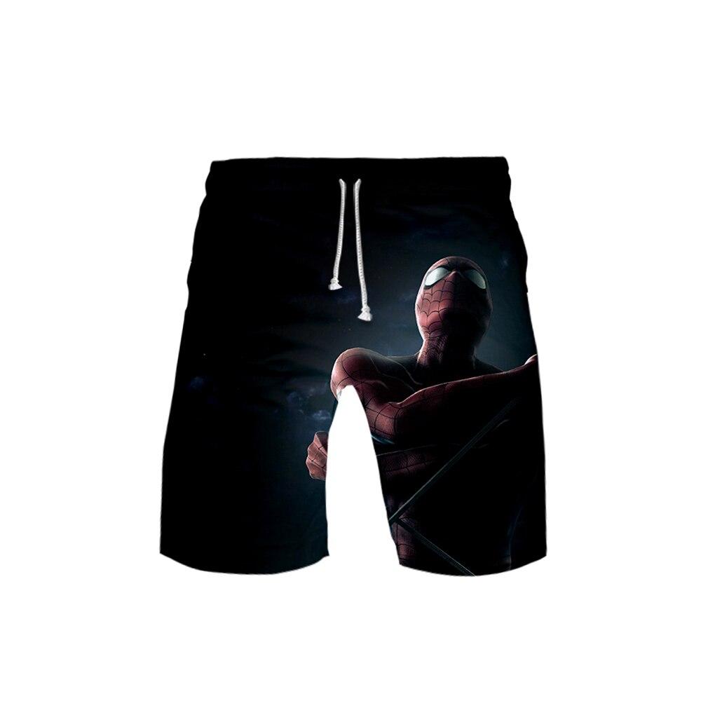 Spider man far from home Board Shorts Trunks 2019 Summer Quick Dry Beach casual Shorts teenager Hip Hop Short Pants Beach Wear