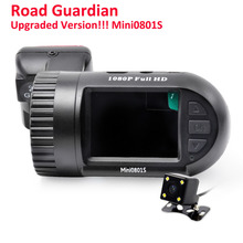 Arpenkin Car Camera Dash cam Mini0801S(Upgraded 0801)FHD 1080P Video Registrar With Dual lens Backup Rearview Parking Recorder