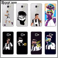 Juventus Football Soccer Star Paulo Dybala Cover For samsung Galaxy A3 A5 A7 J1 J5 J7 2015 note 3 4 5 TPU Soft Phone case Cover(China)