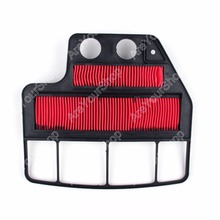 Motorcycle Air Filter Cleaner for Honda CBR400 NC23 1987 1988 1989 1Pcs Red Cotton Gauze Hot Selling(China)