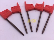 FREE SHIPPING 5pcs T8 TORX Wrench Superior quality For HOLER(China)