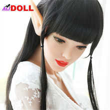 Buy 168cm Fairy Elf Real Silicone Sex Dolls Metal Skeleton Sex Doll Real Doll Sex Toy Rubber Woman Oral Anal Vagina Boneca Sexual