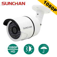 SunChan High Quality AHDH Camera 1080P 2.0MP 36 IR LED Night Vision Waterproof Camera Outdoor CCTV Camera w/Bracket(China)
