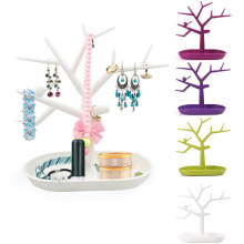 New Creative Tree Design Jewelry Necklace Ring Earring Tree Stand Display Organizer Holder Show Rack