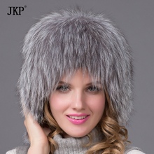 Women's 2017 winter fox fur hat with fur ear protection cover and light sticks lined bomber hat warm quality hot HHY-13