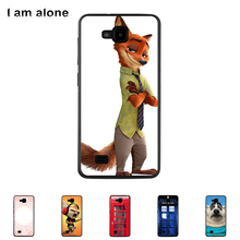 "Solf TPU Silicone Case For ZTE Blade AF3 4.0"" Mobile Phone Cover Bag Cellphone Housing Shell Skin Mask Color Paint Shipping(China)"