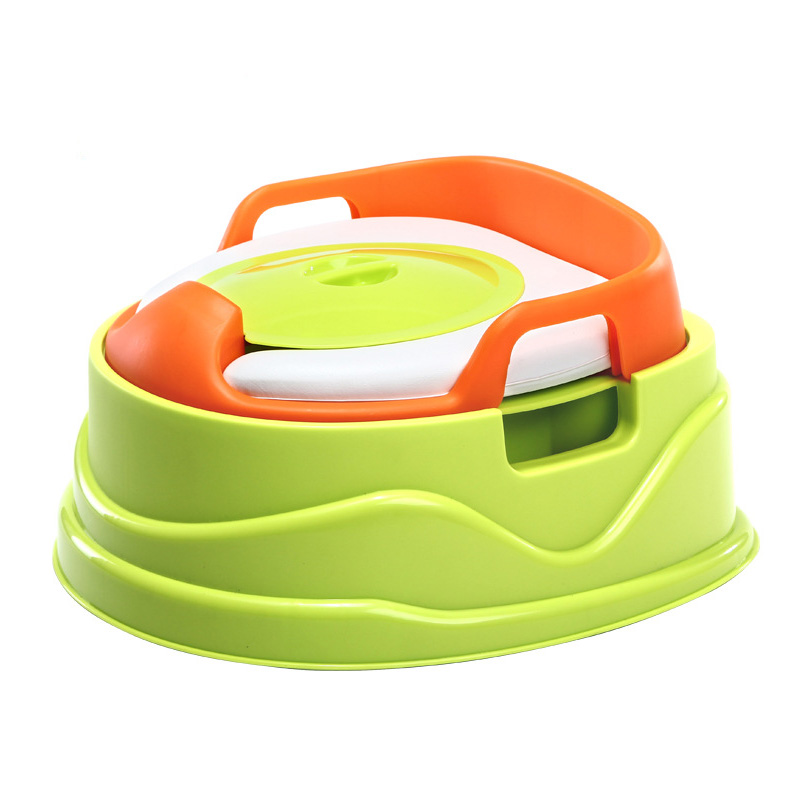 Baby Toilet Plastic Leakproof Portable Toilets Stripes Childrens Pot Baby Toilet Seat Drawer Training Boy Girl Childrens Potty<br>