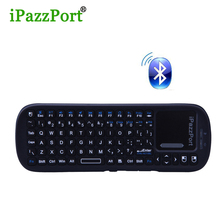 Original Mini Wireless bluetooth keyboard with Touchpad Air Mouse Combo Teclado for HDPC Win7 Pad Xbox360 PS3 Andriod TV Box(China)