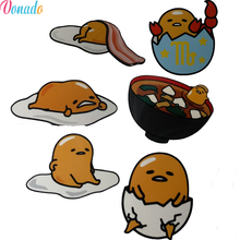 Gudetama Kawaii Lazy Egg Rotate Memo Pads School Office Supply Laptop Luggage Skateboard Backpack Tables Loose Leaf Sticker(China)