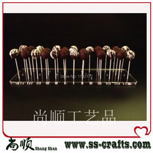 single  tier Acrylic Cake pop Display/Shelf Lollipop Display/Stand
