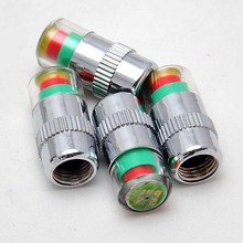 4pcs In 1 Set general Car Auto Tire Pressure Monitor Valve Stem Caps Sensor Indicator Alert