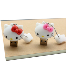 Reboto usb flash drive Hello Kitty pen drive 64gb 32gb memory stick 4gb 8gb 16gb Pendrive Cartoon usb2.0 real capacity U Disk