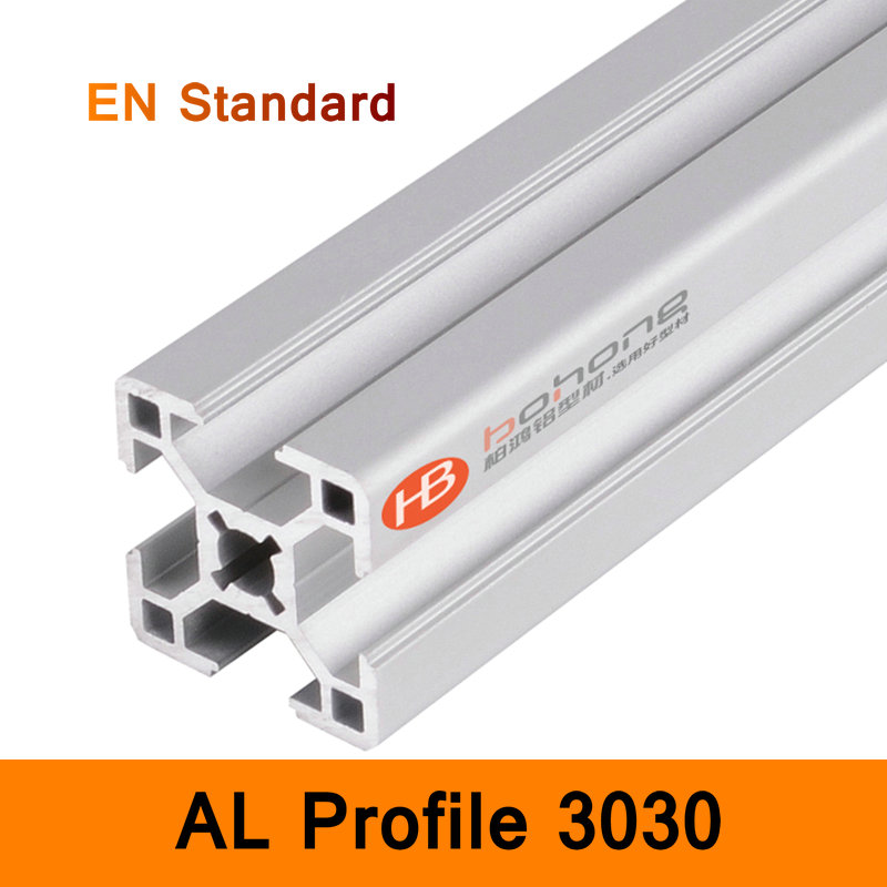 3030 Aluminium Profile EN Standard Brackets DIY Bracket Table Holder AL Aluminum Shape CNC 3D DIY Printer Parts Slot Rail<br>