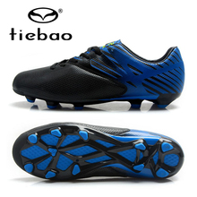TIEBAO Training Soccer Shoes High Quality Men Football Boots FG & HG Soles Sneakers Soccer Cleats chuteira futebol EU Size 39-45
