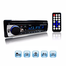 Car Radio Stereo Player Digital Bluetooth Car MP3 Player 60Wx4 FM Radio Stereo Audio Music USB / SD with In Dash AUX Input(China (Mainland))