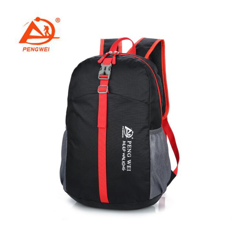 Pengwei Foldable Riding Backpack Outdoor Breathable Outdoor Riding Backpack Riding Bicycle Cycling Bag S195