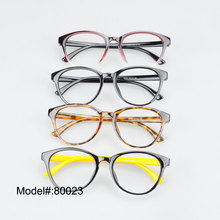 80023 CAT EYE Woman's fashion full rim eyeglasses myopia eyewear presercption optical frames(China)