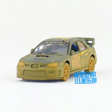 KINSMART Die Cast Metal Models/1:36 Scale/Racing Impreza WRC 2007(Muddy)toys/for children's gifts or for collections