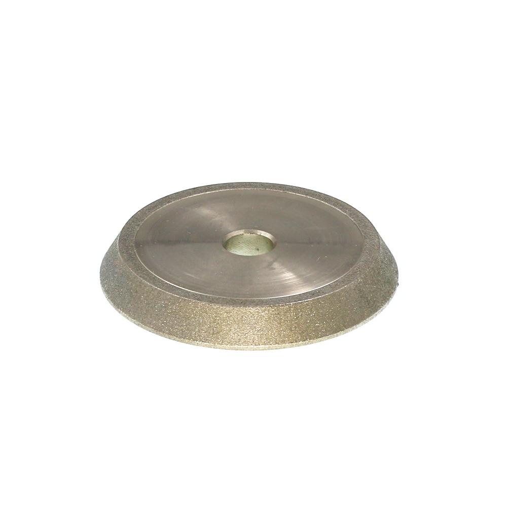 CBN Diamond grinding wheel. 13-type drill grinding machine wheel. 60 angle diamond wheel. CBN 78*12.7*10<br><br>Aliexpress