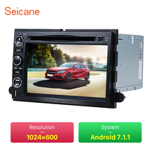 Seicane Android 7.1 DVD GPS In Dash Radio System for 2005-2009 Ford Mustang F150 with Bluetooth Mirror Link OBD2 Camera