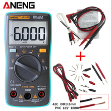 ANENG AN8002 Digital Multimeter 6000 counts Backlight AC/DC Ammeter Voltmeter Ohm Portable Meter