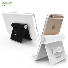 Lenuo phone holder universal mobile phone holder stand Tablet Desk Stand for iPhone iPad Sony Huawei xiaomi HTC ASUS Samsung(China)