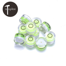 Wholesale 60 PCS 14mm*8mm Stick-on Disc Bubble Level Circle Protector Cover Cap Bubble Spirit Level For DSLR Camera