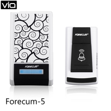 Forecum 5 Free Shipping 5 pics/lot Wireless Front Door Bell Chime Remote Control 100m Waterproof 36 tunes Doorbell